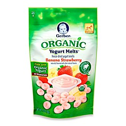 Gerber Graduates Organic Strawberry Banana Yogurt Melts®