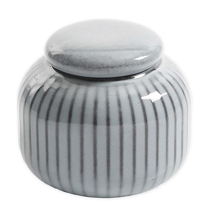 Alternate image 1 for Artisanal Kitchen Supply® Soto Covered Sugar Bowl in Ash