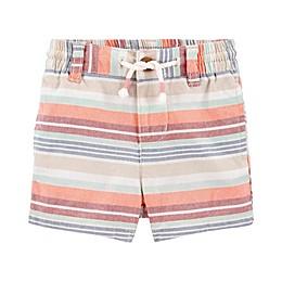 OshKosh B'gosh® Multi Stripe Short in Coral