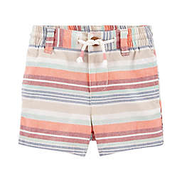 OshKosh B'gosh® Multi Stripe Short in Coral