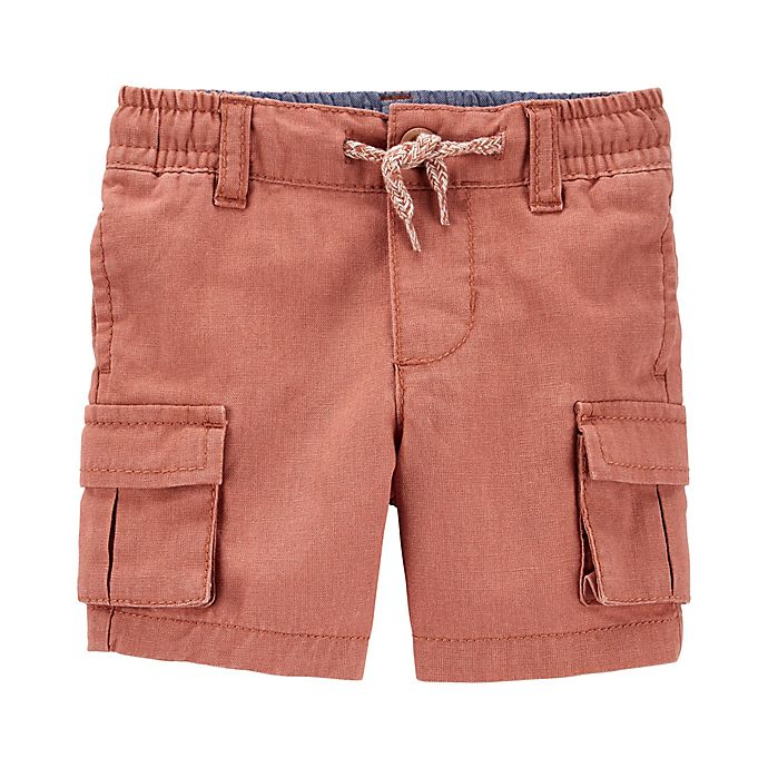 Alternate image 1 for OshKosh B'gosh® Henna Cargo Short