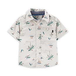 OshKosh B'gosh® Palm Tree Button-Front Shirt in Khaki