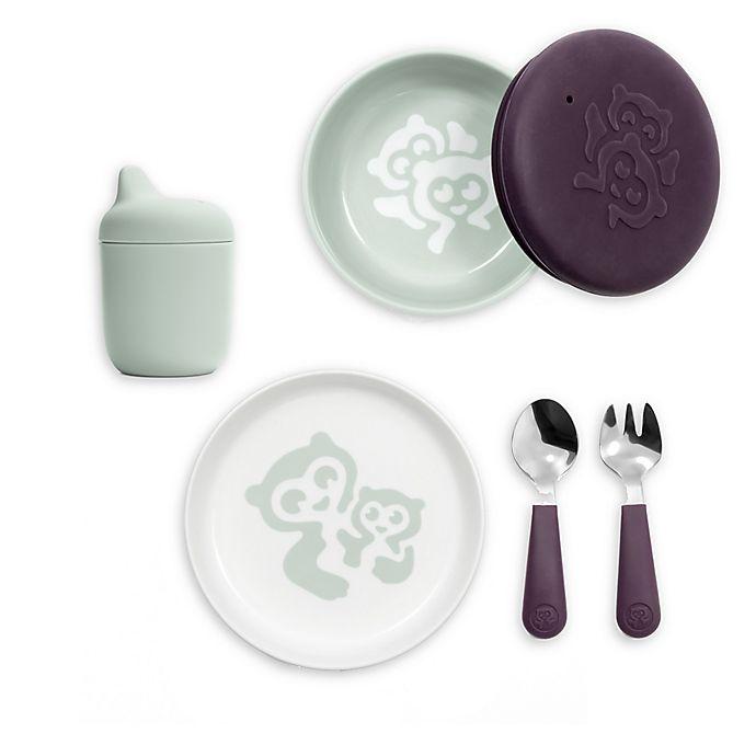 Alternate image 1 for Stokke® MUNCH 5-Piece Dinnerware Set in Mint