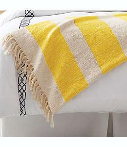 Frazada texturizada One Kings Lane Open House™ en amarillo