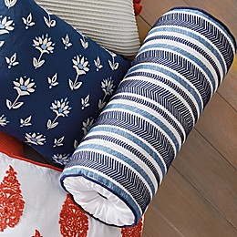 One Kings Lane Open House™ Southwich Bolster Pillow in Navy