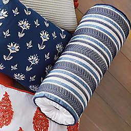 One Kings Lane Open House™ Southwich Bolster Pillow in Navy