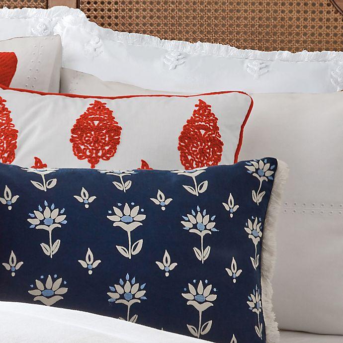 Alternate image 1 for One Kings Lane Open House™ Hadley European Pillow Sham in White