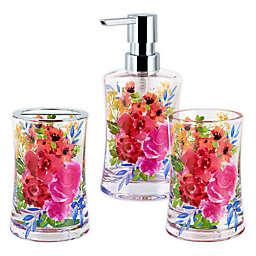 Floral Burst 3-Piece Bath Accessory Set