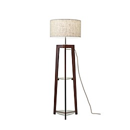 Adesso® Henderson Shelf Floor Lamp