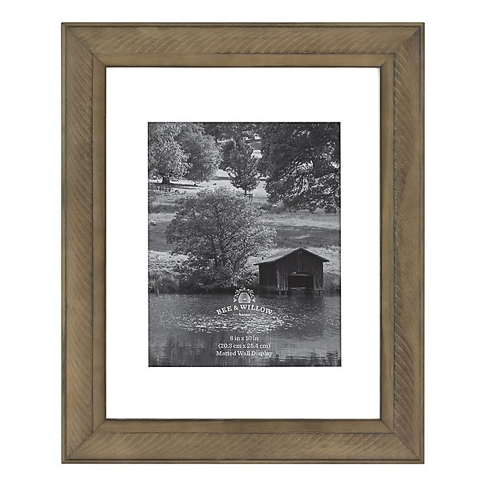 Alternate image 1 for Bee & Willow™ Home Matted Wood Picture Frame