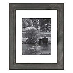 Bee & Willow™ Home 11-Inch x 14-Inch Matted Wood Picture Frame in Oxford Black