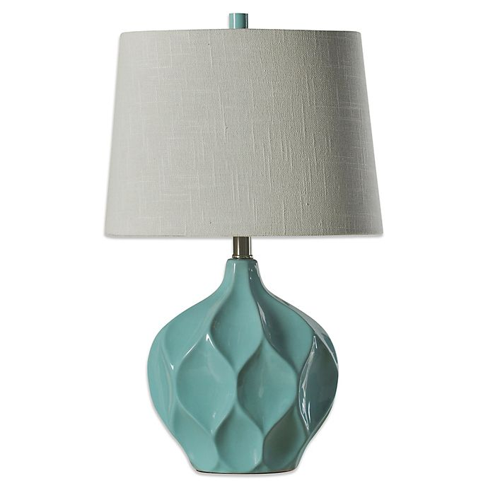 Alternate image 1 for Coventry Facets Ceramic Table Lamp in Woodlawn