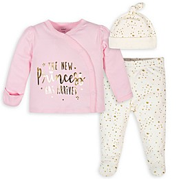Gerber® 3-Piece New Princess Take-Me-Home Set