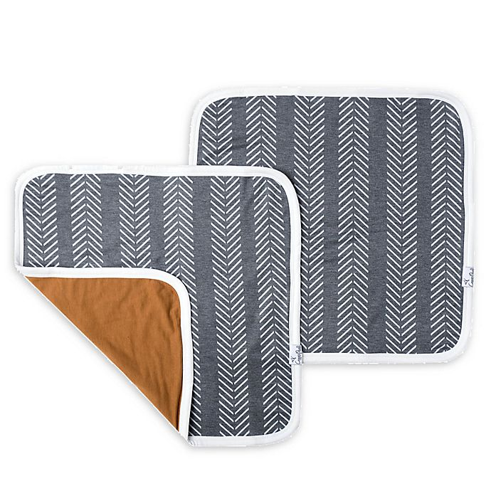 Alternate image 1 for Copper Pearl 2-Pack Three-Layer Security Blankets in Canyon