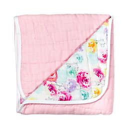 The Honest Company® Rose Blossom Organic Cotton Quilted Blanket