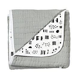 The Honest Company® Pattern Play Organic Cotton Quilted Blanket