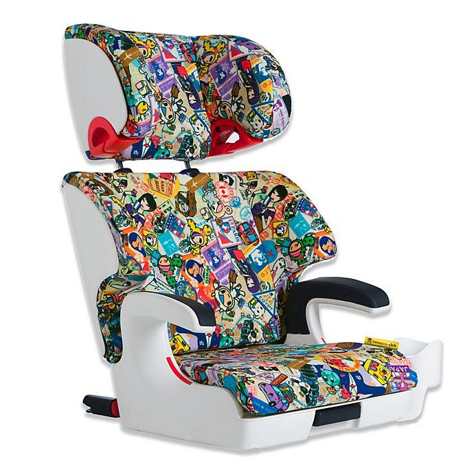 Alternate image 1 for Clek Oobr Full Back Booster Seat in tokidoki Travel