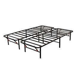 Bedder California King Platform Bed Base in Black