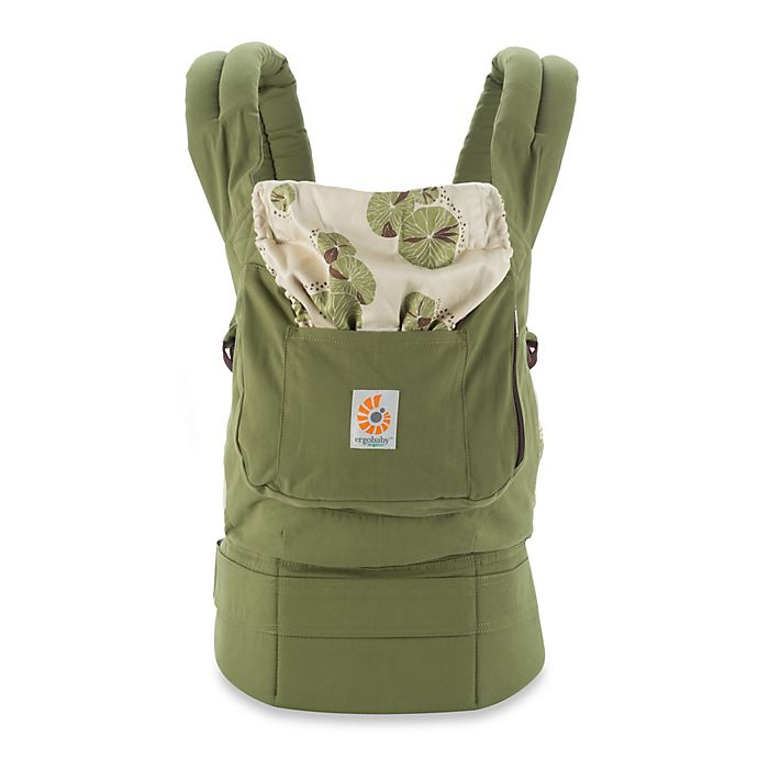 Alternate image 1 for Ergobaby™ Organic Collection Zen Baby Carrier in Olive