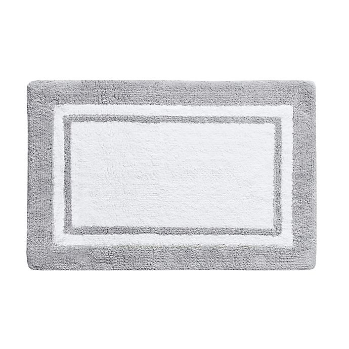 Alternate image 1 for Wamsutta Hotel Border Rug Collection in Grey