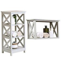 X-Frame Bathroom Storage Collection