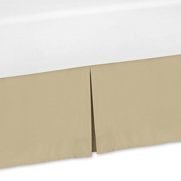 Alternate image 1 for Sweet Jojo Designs Camo Queen Bed Skirt in Tan