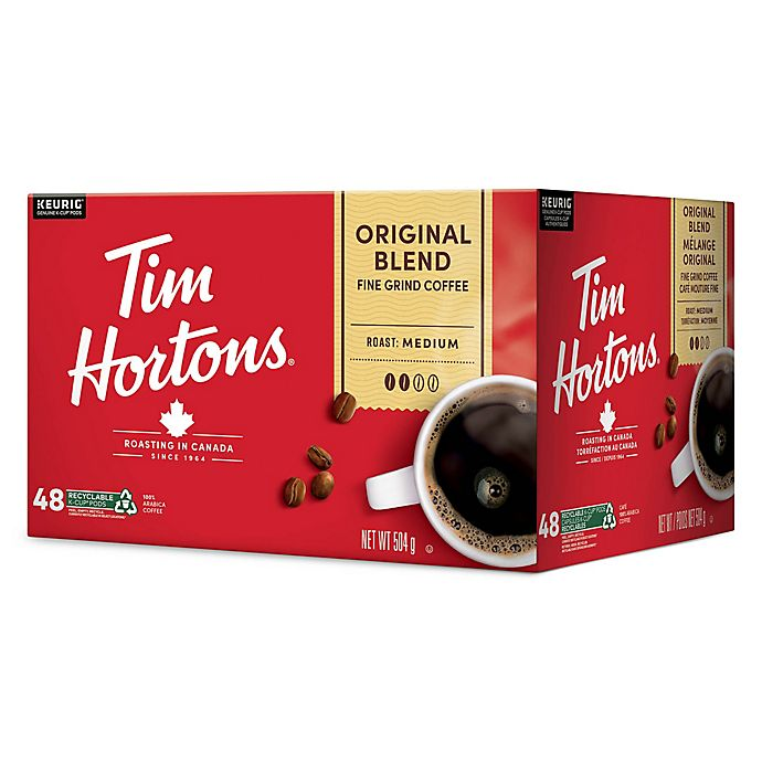 Alternate image 1 for Tim Hortons® Coffee Pods for Single Serve Coffee Makers Collection