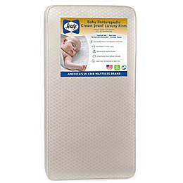 Sealy® Posturepedic Crown Jewel Luxury Firm Crib and Toddler Mattress