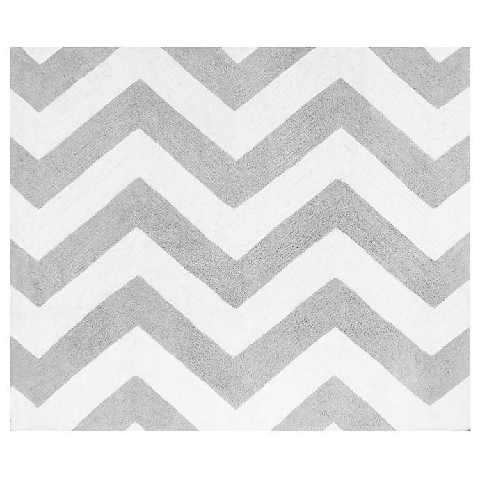Alternate image 1 for Sweet Jojo Designs Zig Zag Accent Floor Rug