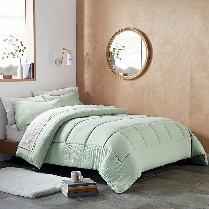 Alternate image 1 for UGG® Devon 2-Piece Reversible Twin/Twin XL Comforter Set in Mint