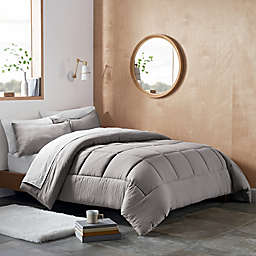 UGG® Devon 2-Piece Reversible Twin/ Twin XL Comforter Set in Seal Grey