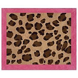 Sweet Jojo Designs Cheetah Girl Floor Rug