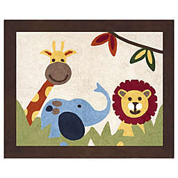 Sweet Jojo Designs Jungle Time 30-Inch x 36-Inch Floor Rug