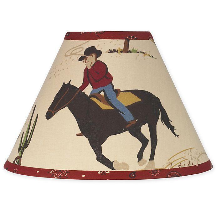 Alternate image 1 for Sweet Jojo Designs Wild West Lamp Shade