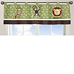Sweet Jojo Designs Jungle Time Window Valance