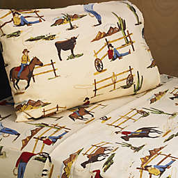 Sweet Jojo Designs Wild West Cowboy Sheet Set