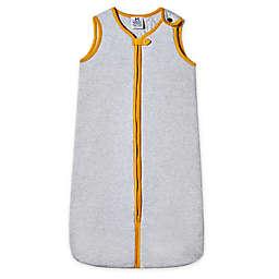 Malabar Baby Erawan Lightweight Organic Cotton Wearable Blanket in Grey/Yellow