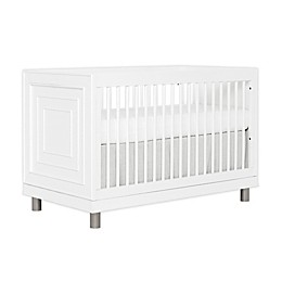 évolur Art Deco 3-in-1 Convertible Crib in White