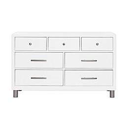 évolur Art Deco Double Dresser in White