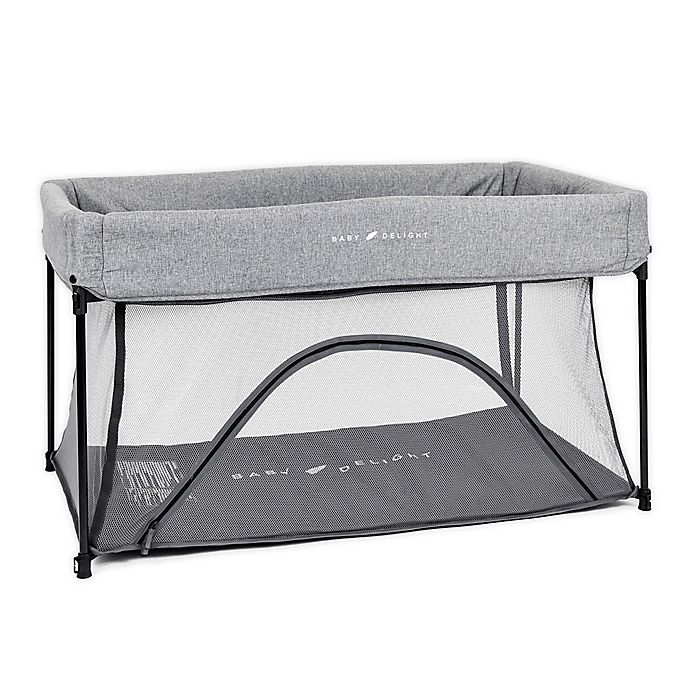 Alternate image 1 for Baby Delight® Go With Me™ Nod Portable Playard in Charcoal