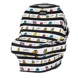 Milk Snob® Sesame Street Stripe Multi-Use Car Seat Cover
