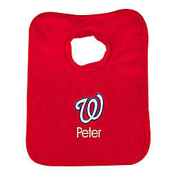 Designs by Chad and Jake MLB Washington Nationals Bib in Red