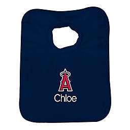Designs by Chad and Jake MLB Los Angeles Angels Bib in Navy
