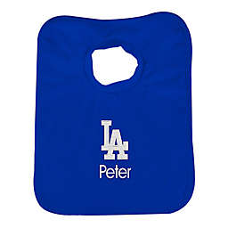 Designs by Chad and Jake MLB Los Angeles Dodgers Bib in Royal Blue