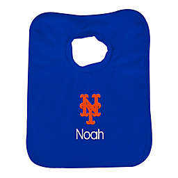 Designs by Chad and Jake MLB New York Mets Bib in Royal Blue