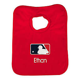 Designs by Chad and Jake MLB Batter Logo Bib in Red