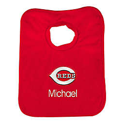 Designs by Chad and Jake MLB Cincinnati Reds Bib in Red