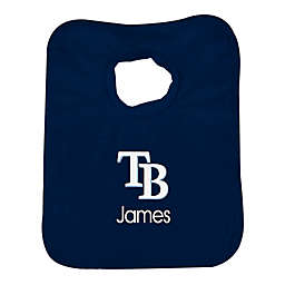 Designs by Chad and Jake MLB Tampa Bay Rays Bib in Navy