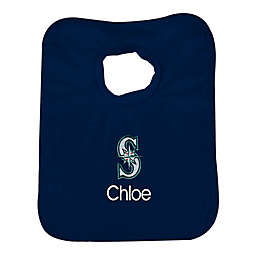 Designs by Chad and Jake MLB Seattle Mariners Bib in Navy