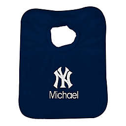 Designs by Chad and Jake MLB New York Yankees Bib in Navy